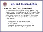 rules and responsibilities8