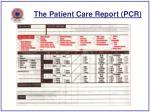 the patient care report pcr45