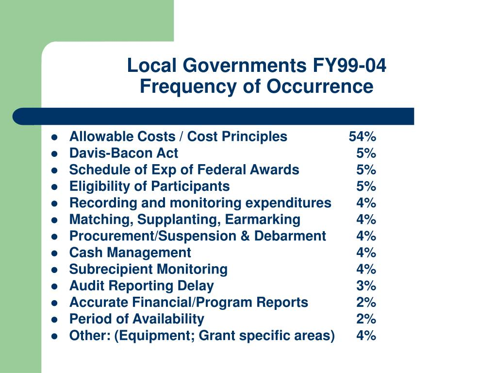 Local Governments FY99-04