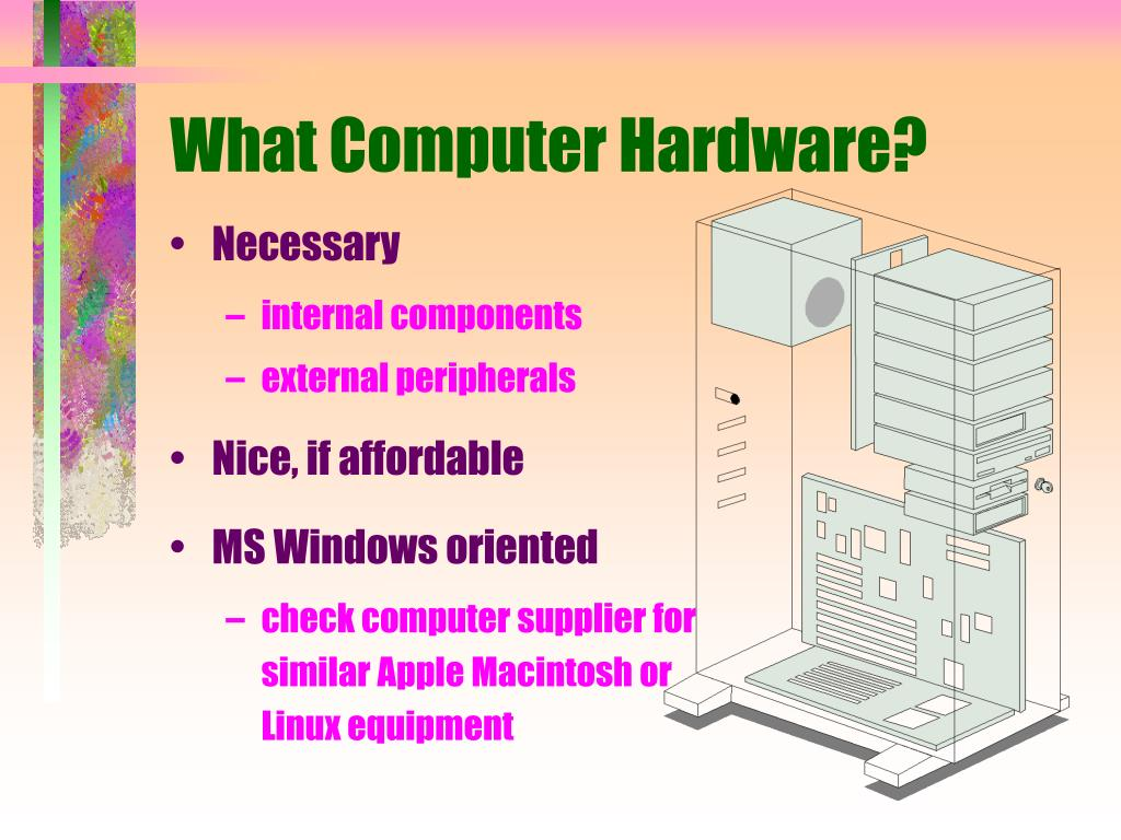 What Computer Hardware?