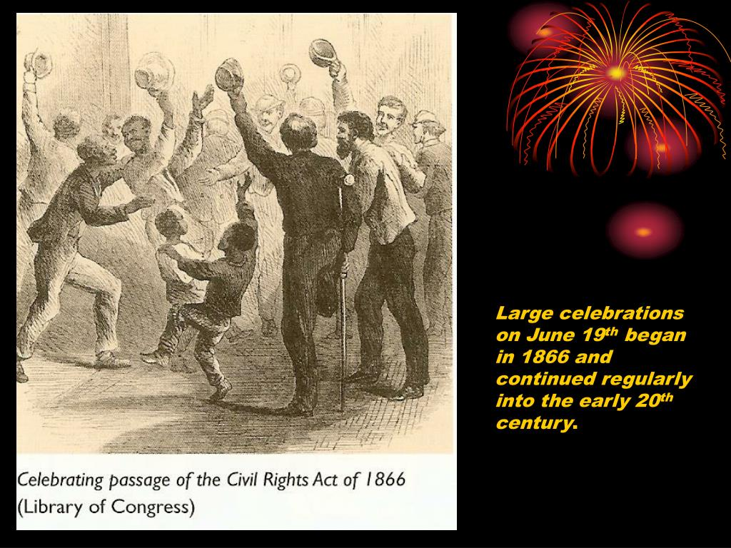 Large celebrations on June 19
