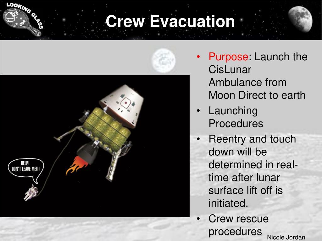 Crew Evacuation