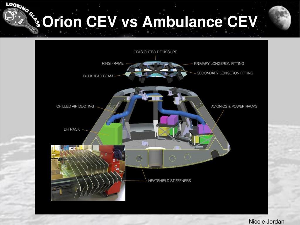 Orion CEV vs Ambulance CEV
