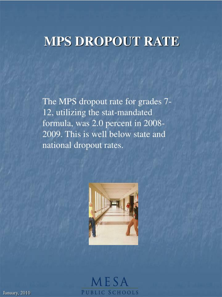 MPS DROPOUT RATE