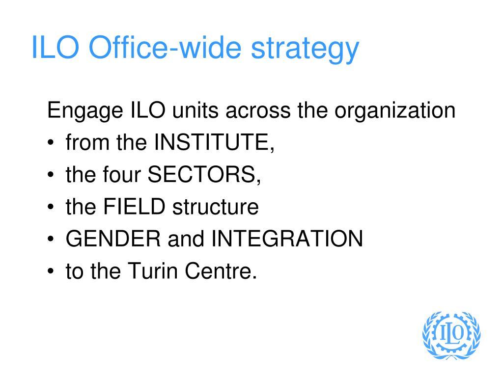 ILO Office-wide strategy
