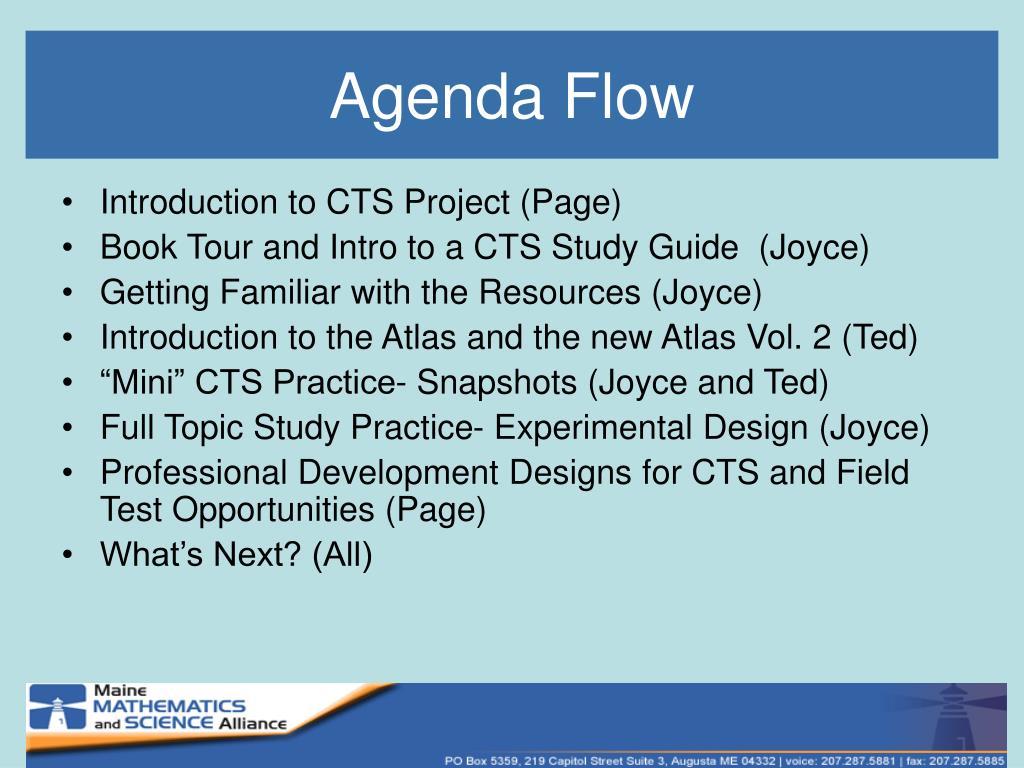 Agenda Flow