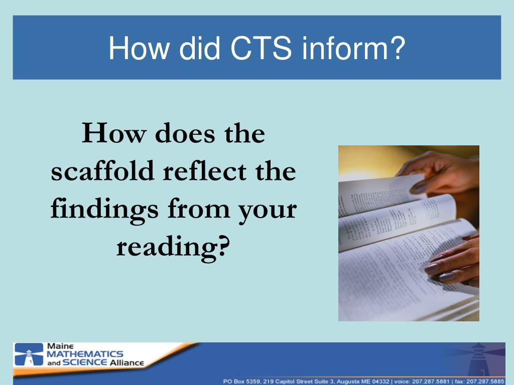 How did CTS inform?