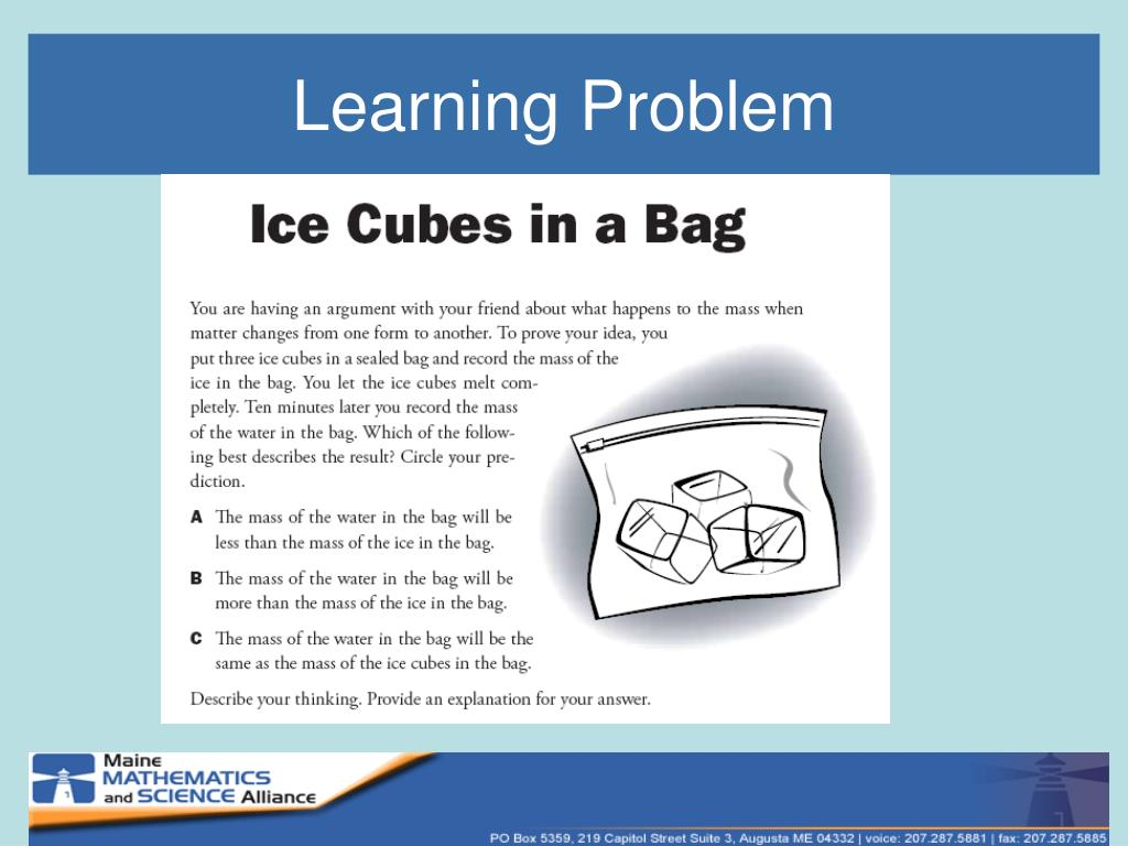 Learning Problem