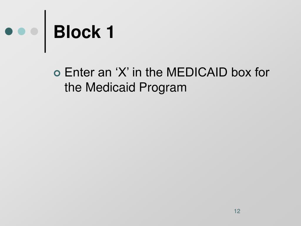 Block 1