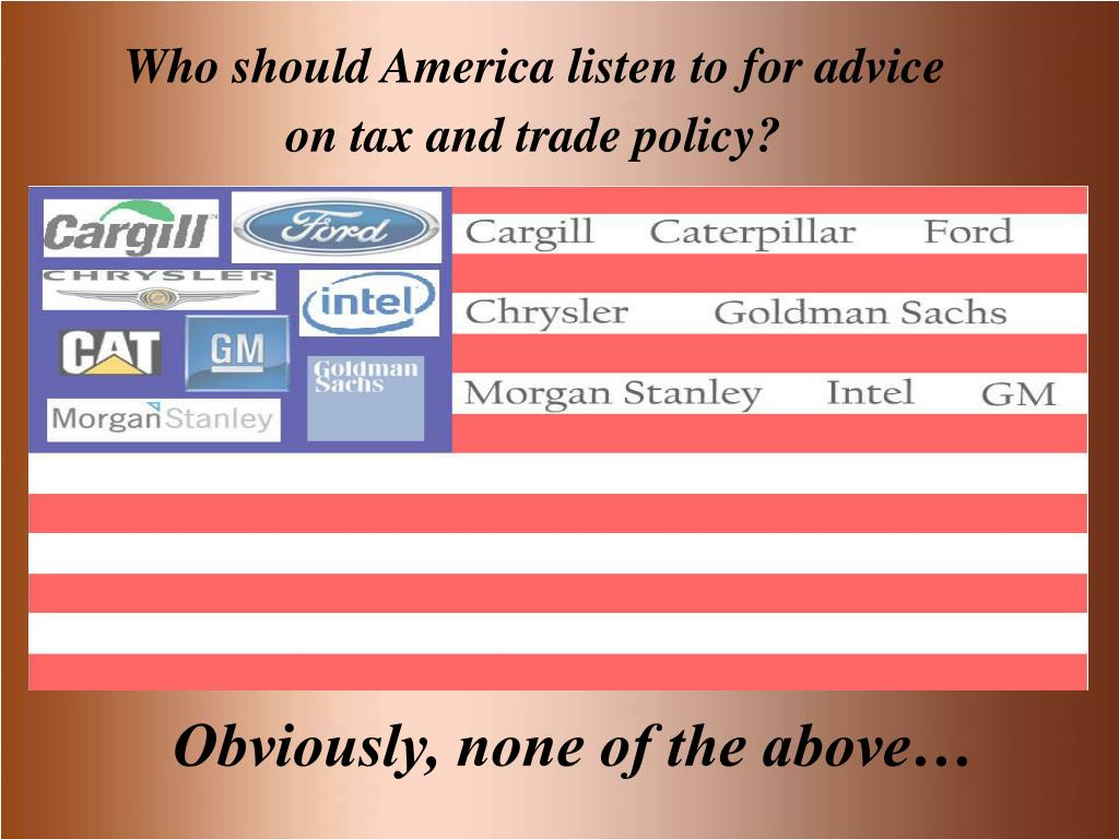 Who should America listen to for advice
