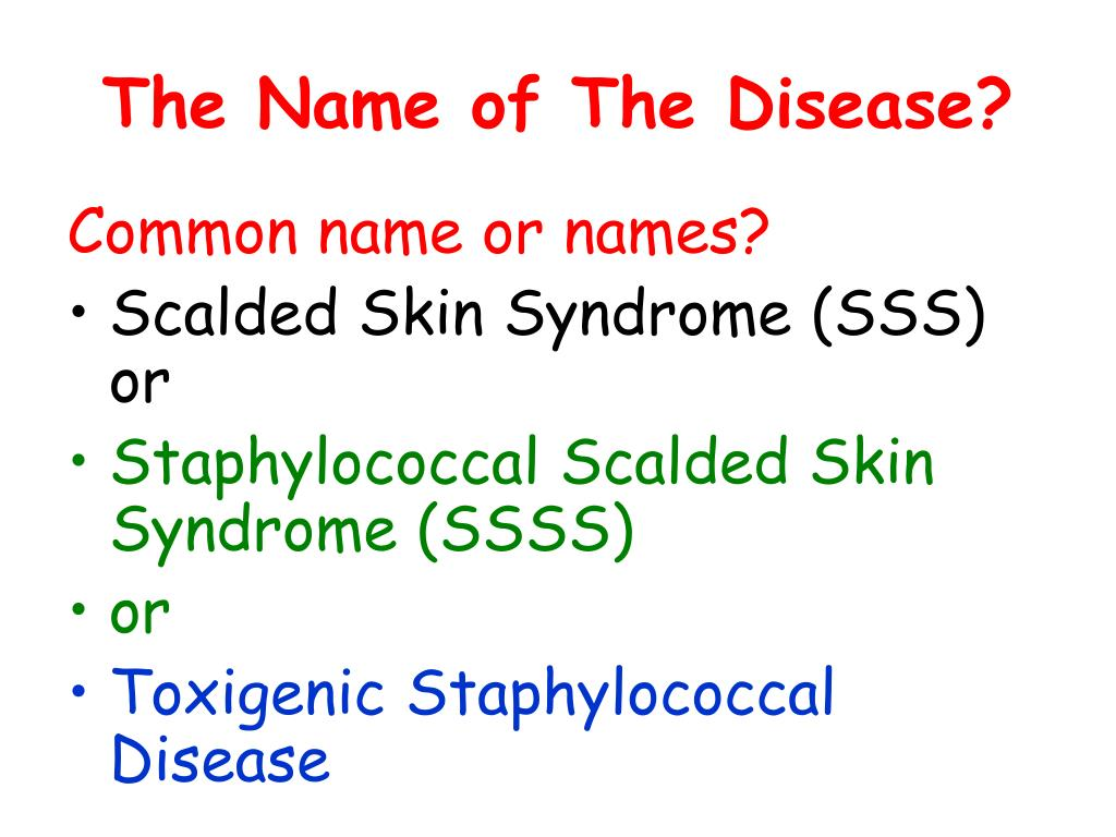 The Name of The Disease?