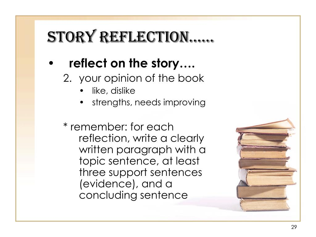 Story Reflection……