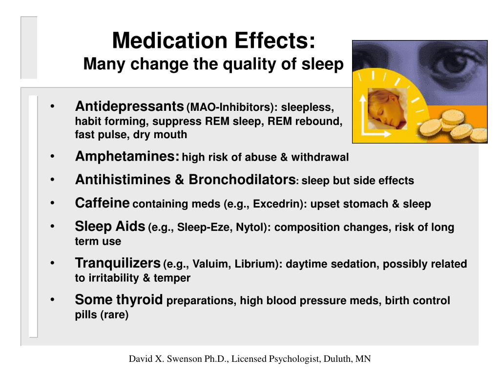 Medication Effects: