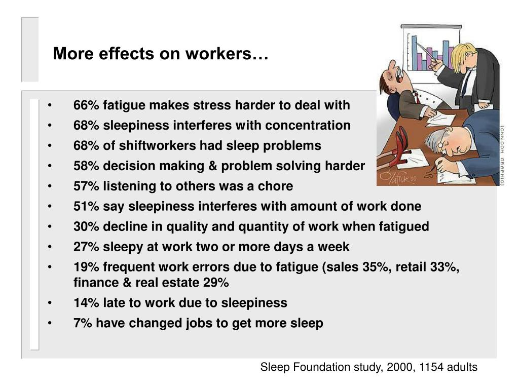 More effects on workers…