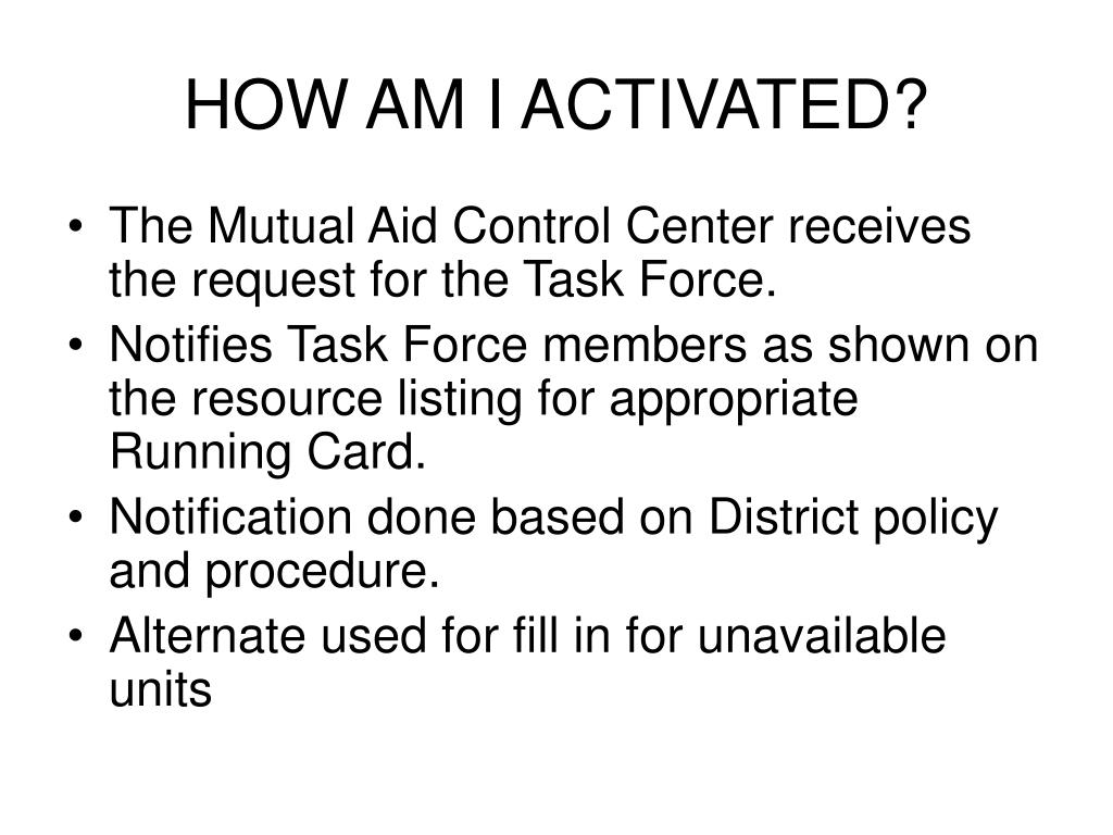HOW AM I ACTIVATED?