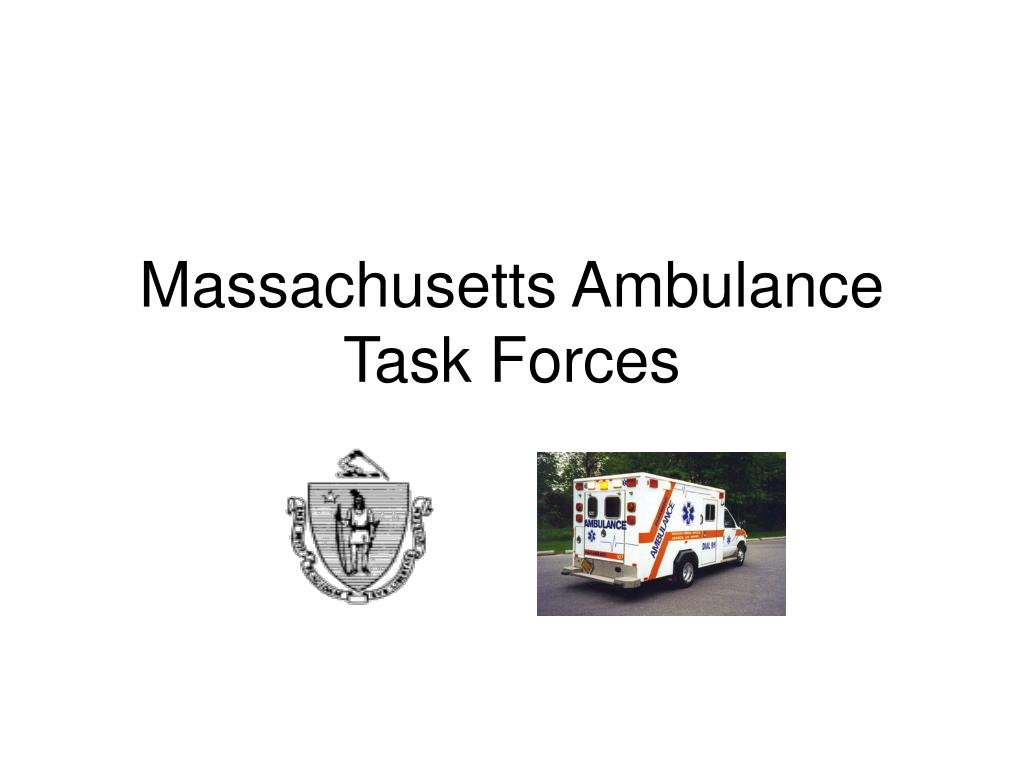 Massachusetts Ambulance Task Forces