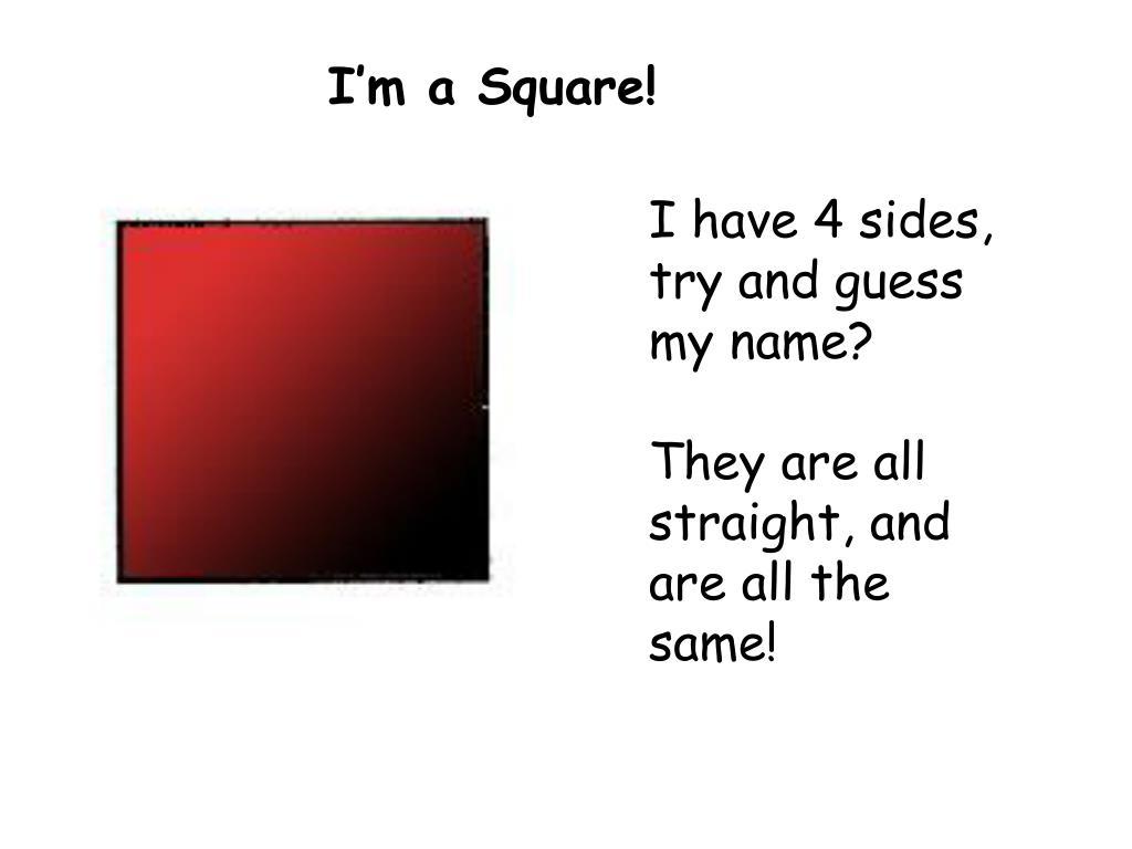 I'm a Square!