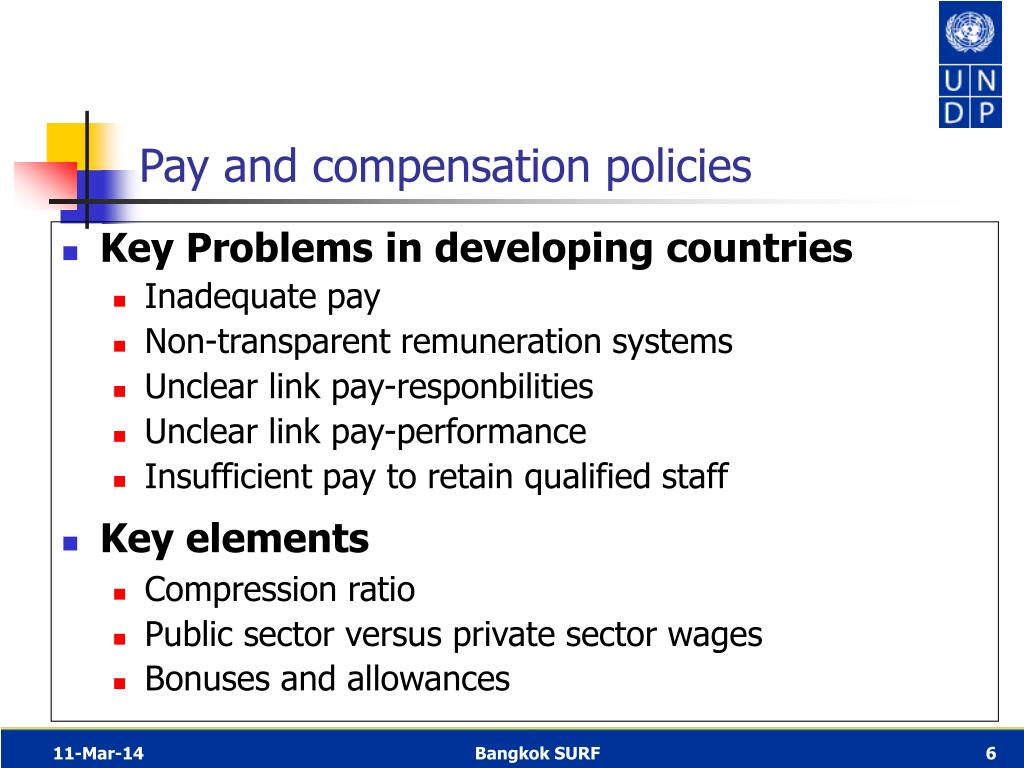 Key Problems in developing countries