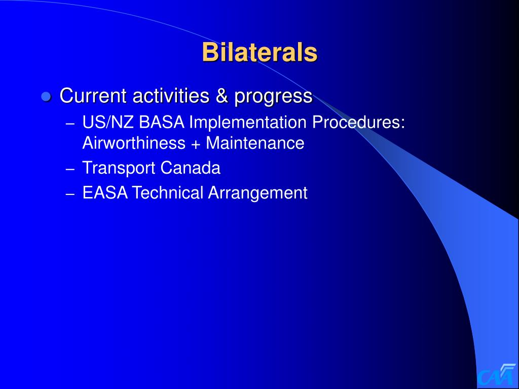 Bilaterals