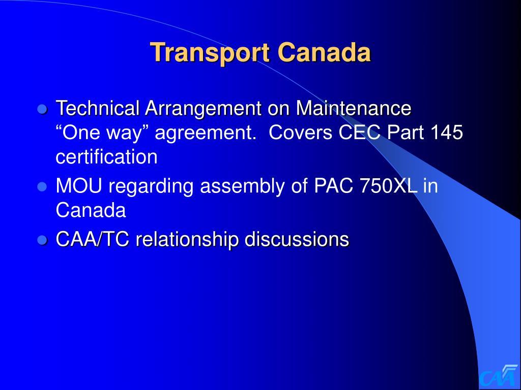 Transport Canada