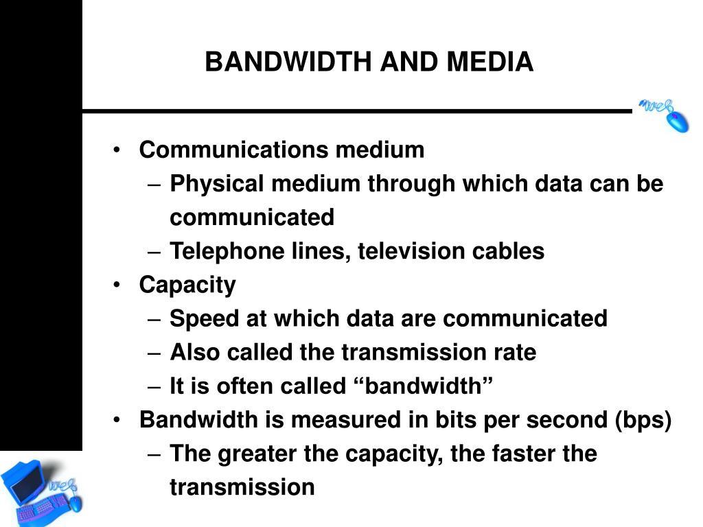 Communications medium