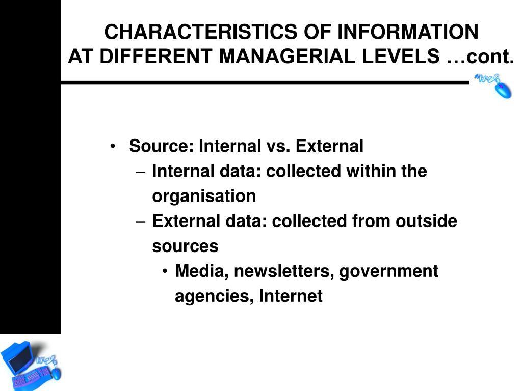 Source: Internal vs. External