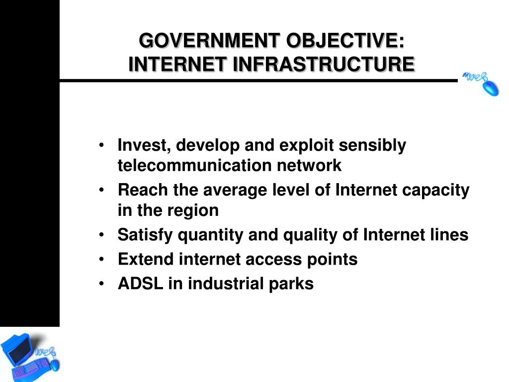 Invest, develop and exploit sensibly telecommunication network