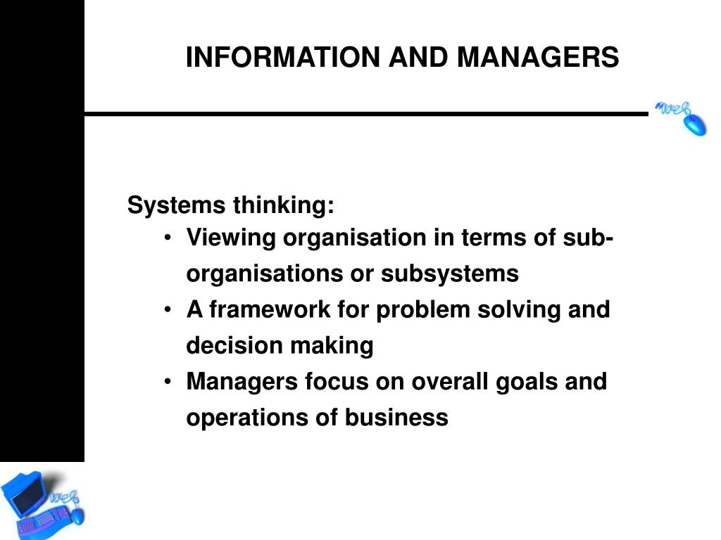 Systems thinking: