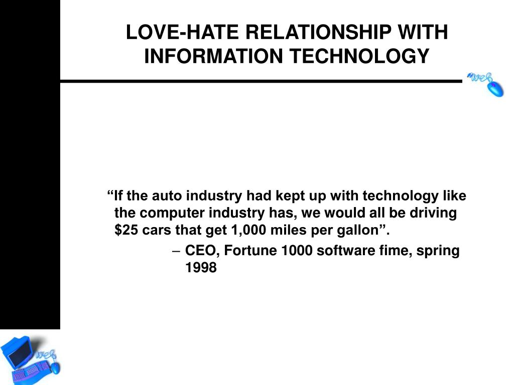 """""""If the auto industry had kept up with technology like the computer industry has, we would all be driving $25 cars that get 1,000 miles per gallon""""."""