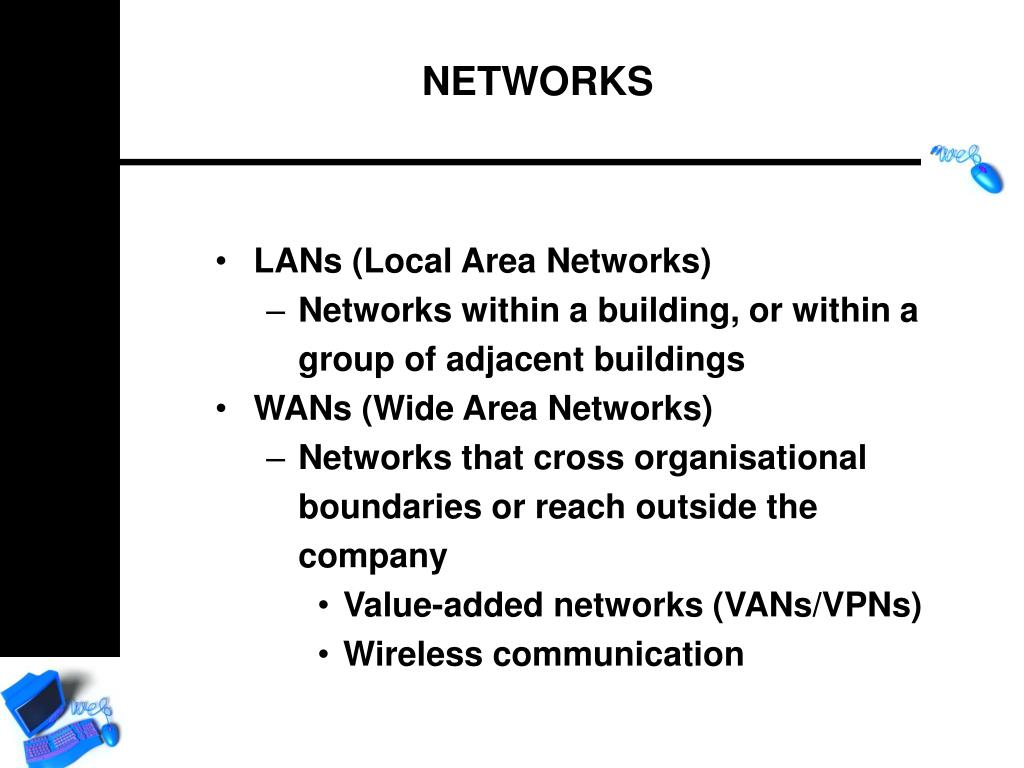 LANs (Local Area Networks)