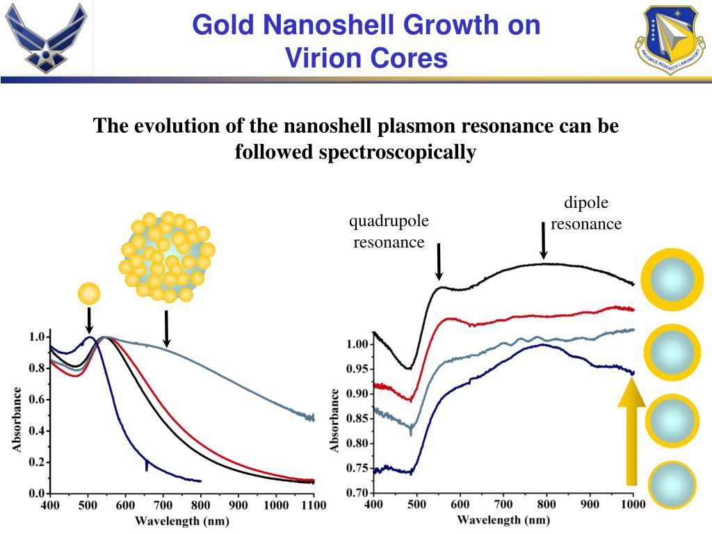 Gold Nanoshell Growth on Virion Cores