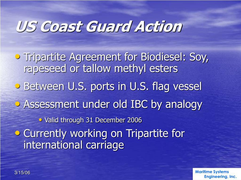 US Coast Guard Action