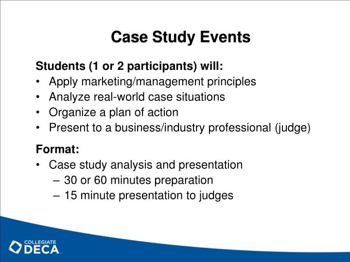 Case Study Events