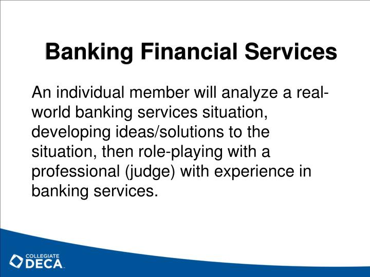 Banking Financial Services