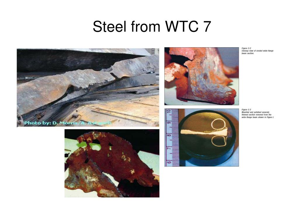 Steel from WTC 7