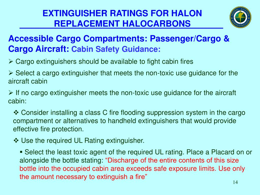 EXTINGUISHER RATINGS FOR HALON REPLACEMENT HALOCARBONS