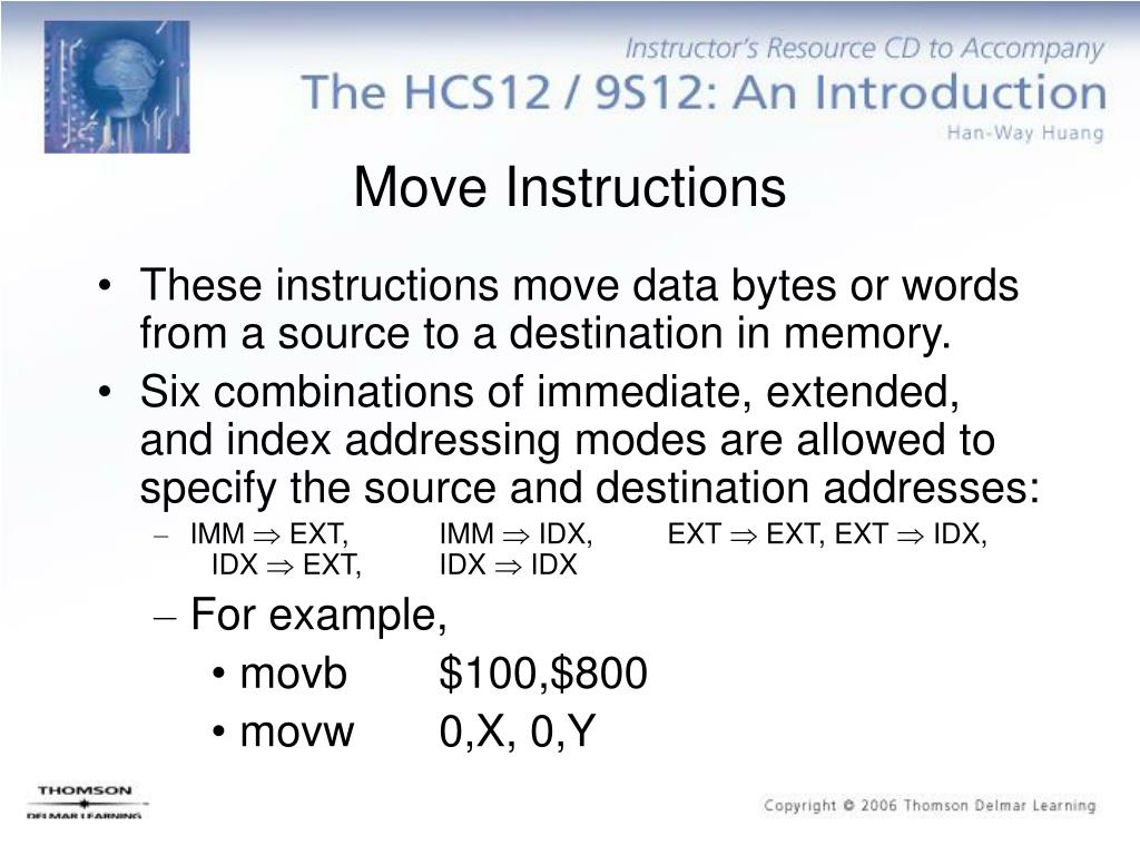 Move Instructions