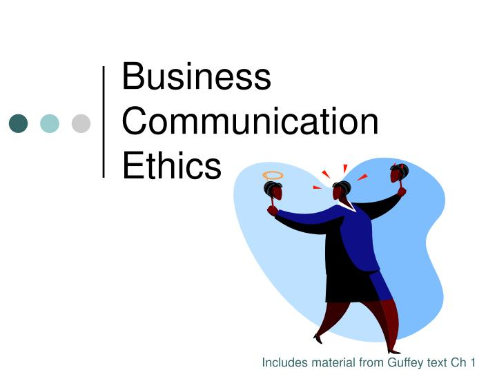 ethics and communication In com 61011, you'll explore ethical theories and strategies, and how ethical issues relating to privacy and security influence social media.