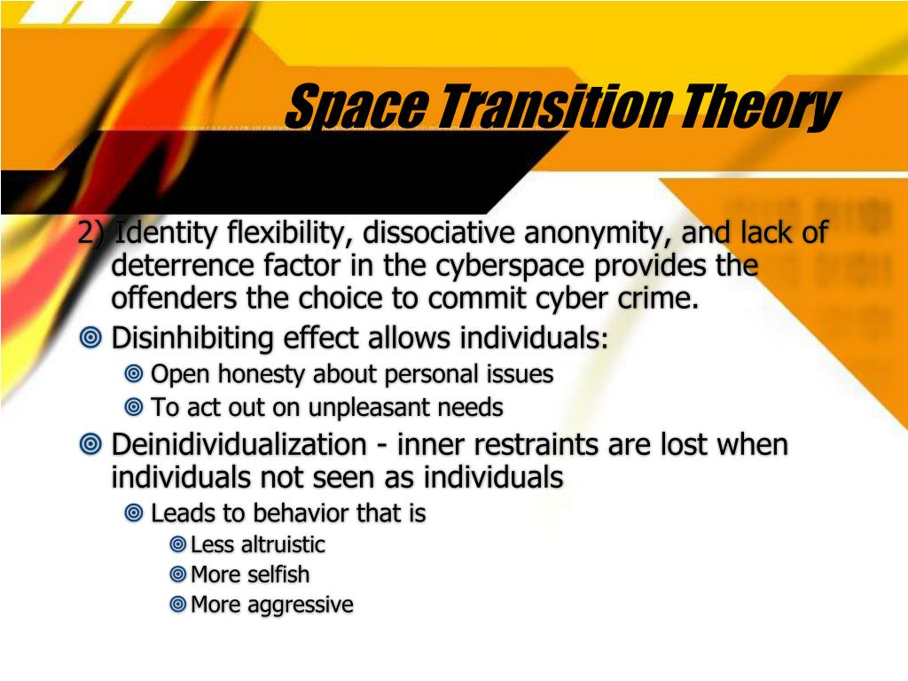 Space Transition Theory