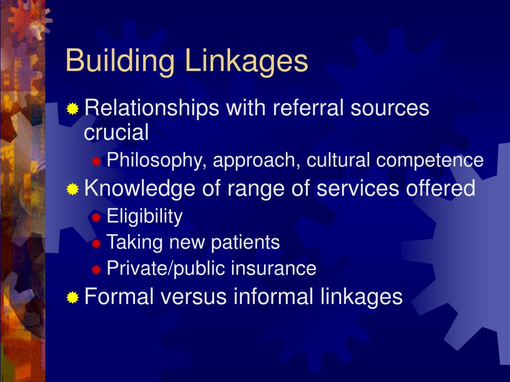 Building Linkages