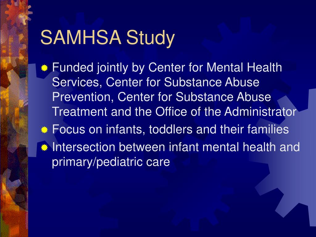 SAMHSA Study