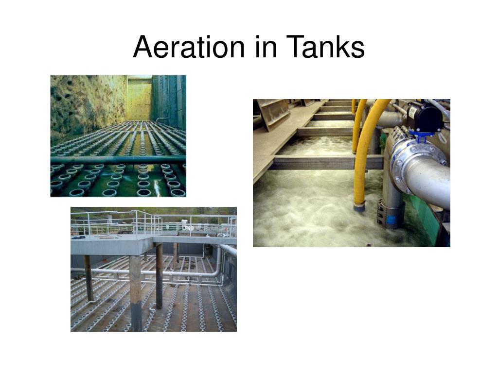 Aeration in Tanks