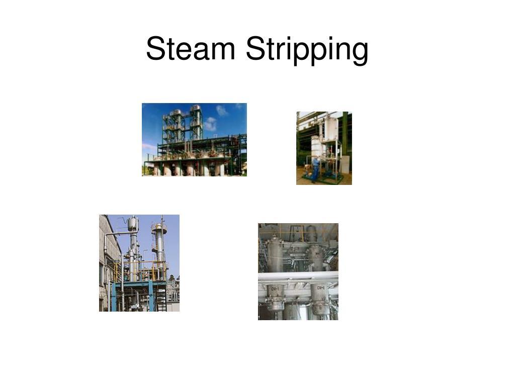 Steam Stripping