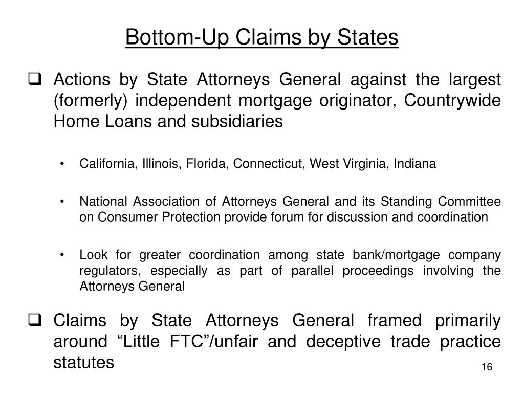 Bottom-Up Claims by States