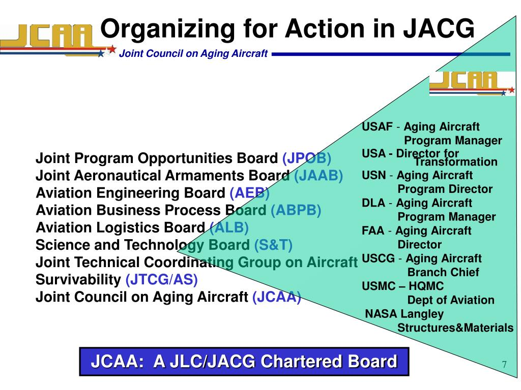 Organizing for Action in JACG