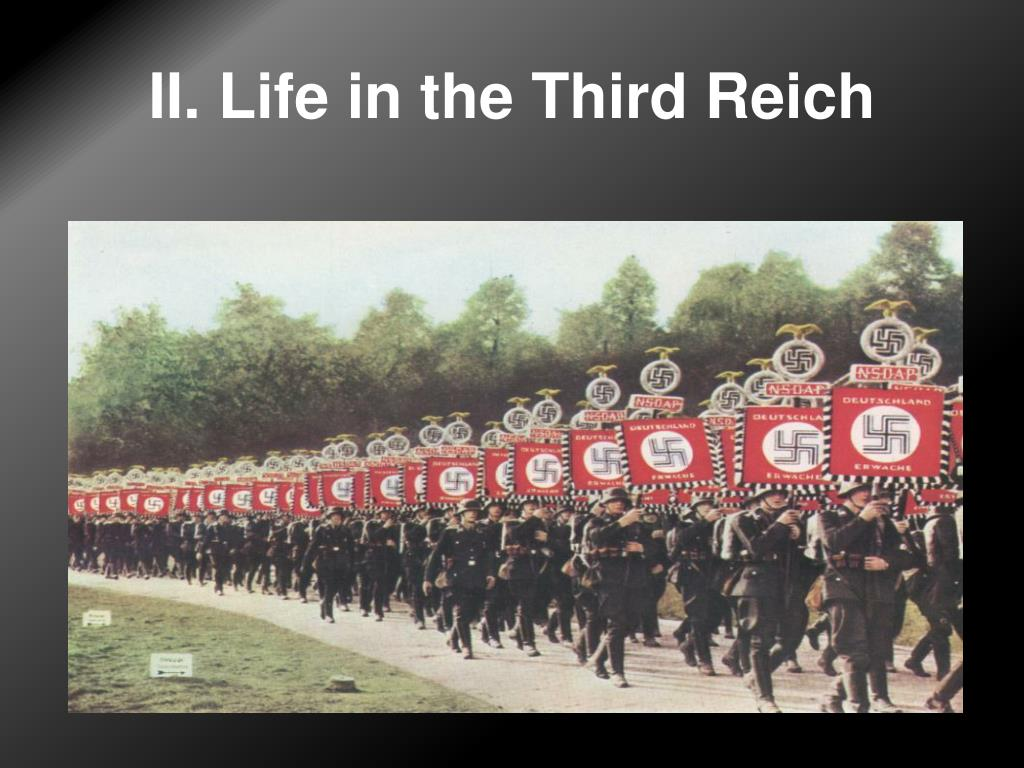 II. Life in the Third Reich