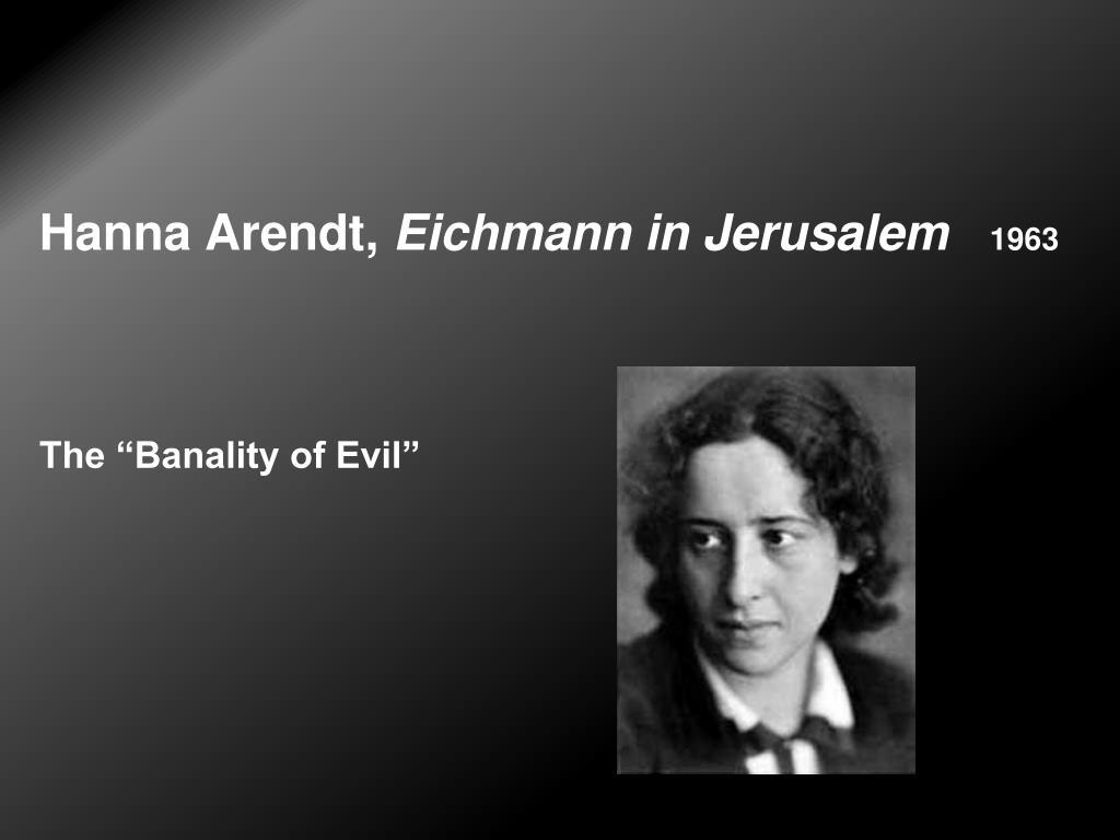 Hanna Arendt,