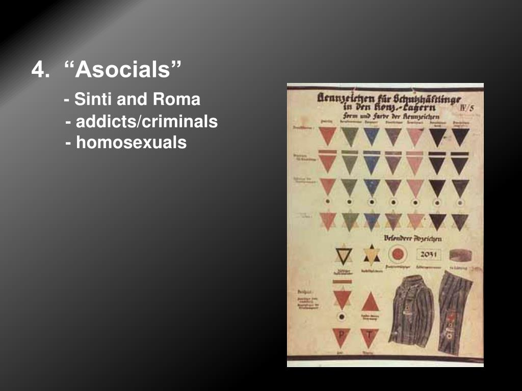 "4.  ""Asocials"""