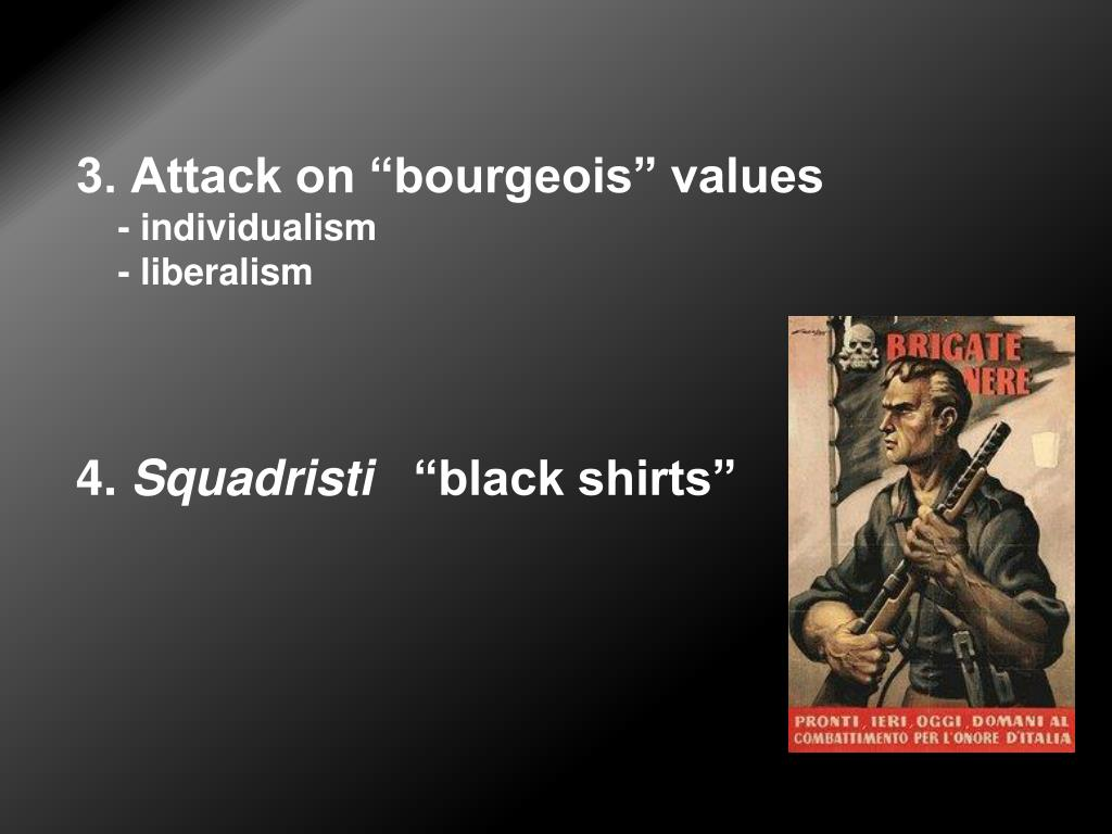 """3. Attack on """"bourgeois"""" values"""