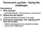 tomorrow s cyclists facing the challenges24